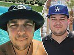 Rob Kardashian proves he is ready to take selfies once again with slim, new Instagram photo