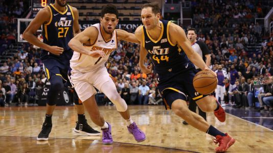 NBA Saturday Tipsheet: Jazz have just to much for the Mavericks