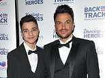 Peter Andre reveals son Junior, 14, is OUT of isolation