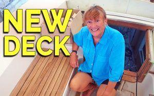 Followtheboat: Refitting Esper's deck and topsides