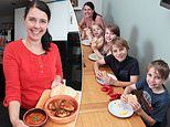 Caroline Barnet reveals how she spends just £15 per person a week on food