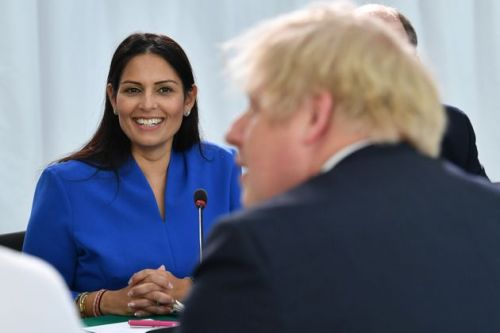 Priti Patel Claims Boris Johnson Is 'Absolutely Not A Racist' After Dave's Brits Performance