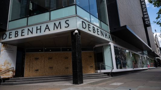 Debenhams files for administration due to lockdown woes