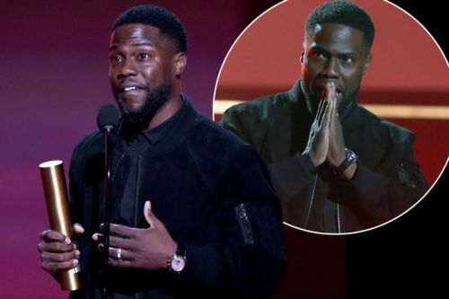 Kevin Hart makes return at People's Choice Awards after life-threatening car accident