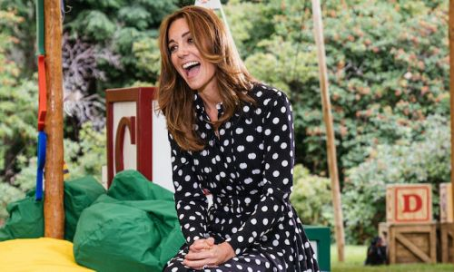 Kate Middleton debuts stunning new haircut and bold polka dots for new appearance