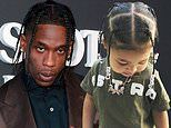 Travis Scott gushes over daughter and shares photos of Storimi with his box-braid hairstyle