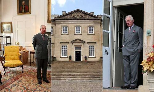 Inside Prince Charles' stunning Scottish home Dumfries House: all the photos