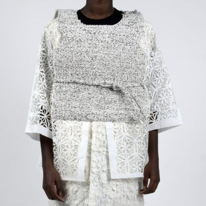 Sun Lee reworks traditional Korean craft into clothes made from paper