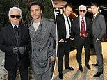 Chanel handbags at dawn! Model and chauffeur vie to be named Karl Lagerfeld's 'spiritual heir'