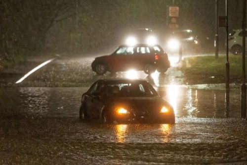 Major rivers burst banks as hundreds told to flee their homes