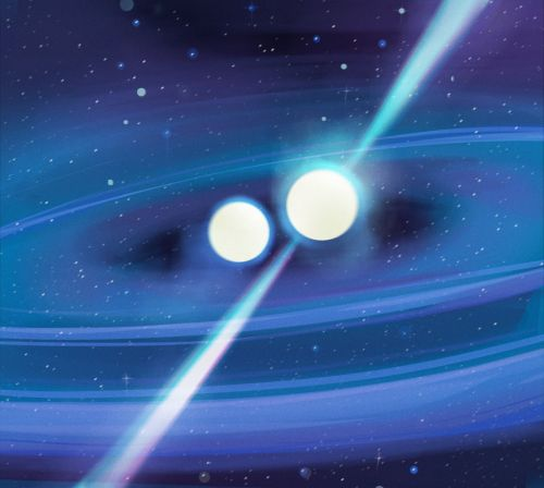 Neutron stars locked in orbit 'could shed light on universe's biggest mysteries'
