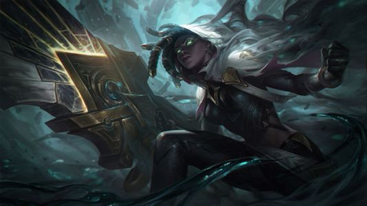 Here's your first look at League of Legends' High Noon Senna and Irelia skins