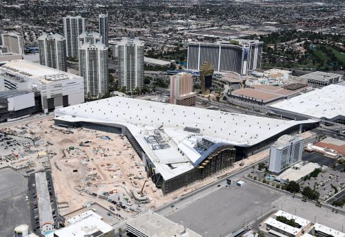 Elon Musk shares a rendering of what the Boring Company's tunnel staging area will eventually look like in Las Vegas
