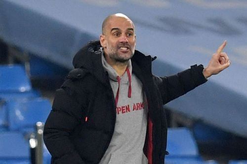Pep Guardiola focusing only on Man Utd fixture as Man City close on more records