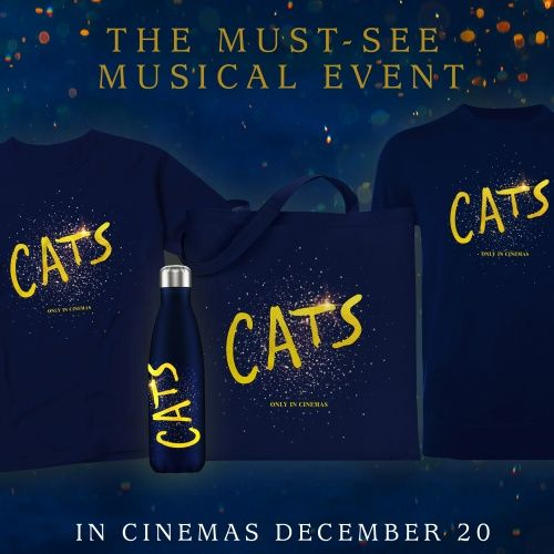Win a Cats the Movie merchandise bundle from the Industry Trust