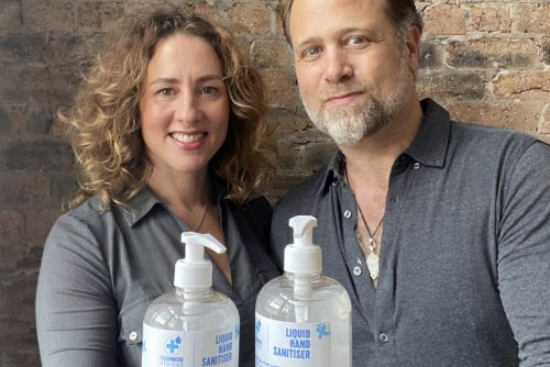 Couple who set up hand sanitiser business 12 weeks ago set to make £30 million