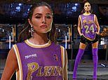 Olivia Culpo pays tribute to Kobe Bryant by wearing his jersey number during Milan Fashion Week