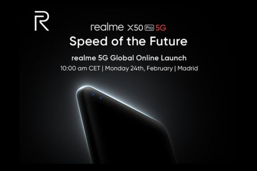 How to watch Realme's X50 Pro 5G launch online