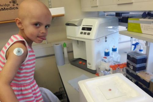 Sophie Taylor strikes back at cancer 16 months after dying from disease aged 5