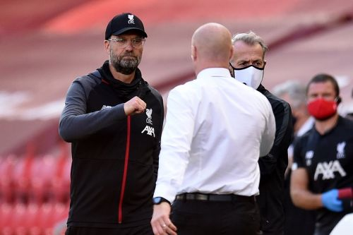 "Burnley praised for not waiting for ""1-0 down football"" as Klopp bemoans Nick Pope heroics"