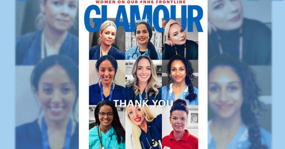 Glamour Magazine replaces celebs with NHS heroes as they join the frontline for coronavirus battle