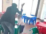 Nursery worker thrashes girl as she cleans up her own vomit in horrific videos