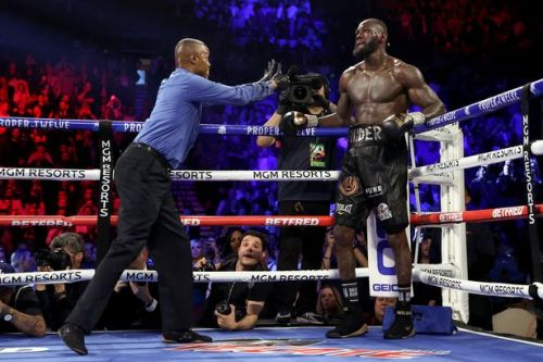 Deontay Wilder angry with his corner for throwing in towel against Tyson Fury