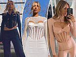 Nadia Bartel owns Australian fashion designer Dion Lee's $790 corset top in EVERY colour