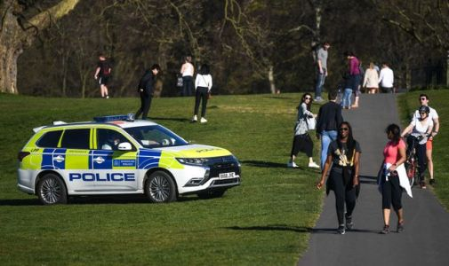 Coronavirus: Some Britons defy lockdown again - and one police officer had clearly had enough