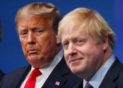 Donald Trump Says Boris Johnson Pleaded: 'We Need Ventilators'