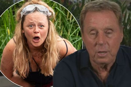 I'm A Celebrity: Harry Redknapp says Emily Atack had 'no chance' with son Jamie - until she put make-up on