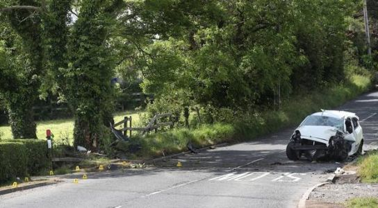 Teenage girls in hospital after serious Bangor crash - one critical