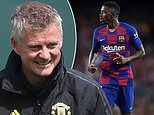 Manchester United 'considering move for Ousmane Dembele if they are priced out of Jadon Sancho'