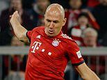 Arjen Robben reveals his wife contracted coronavirus and 'had trouble breathing'