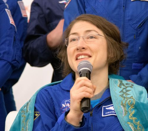 Christina Koch having no problems re-adapting to Earth after record space flight
