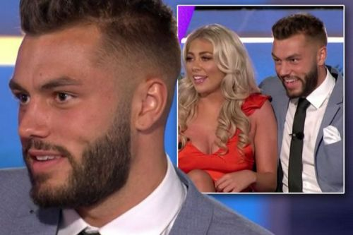 Love Island's Finn makes cheeky joke about sex with Paige after they leave villa