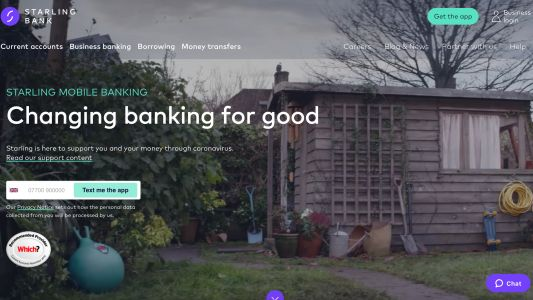 Starling Bank raises £40m as it lends to virus-hit small businesses