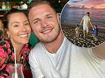 Inside George and Joanna Burgess' idyllic Barbados getaway as they escape Covid-stricken England