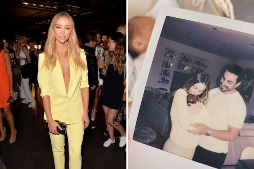 TOWIE star Lauren Pope has given birth to a baby girl and revealed name