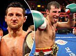 Carl Froch, 42, wants to fight Joe Calzaghe, 48, and calls on old rival to come out of retirement