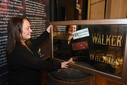 Rare Johnnie Walker historical artefacts to go on public display for the first time in Kilmarnock