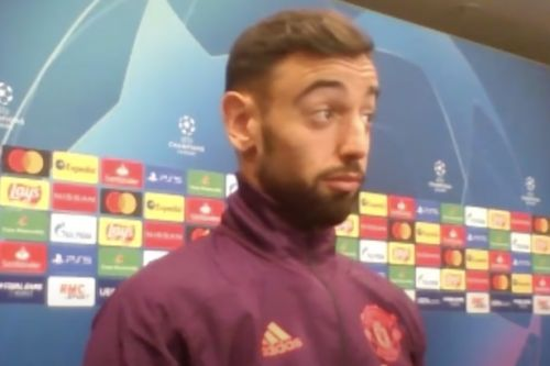 "Bruno Fernandes' ""priceless"" reaction to Man Utd captaincy leaves fans in tears"
