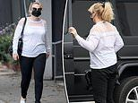 Rebel Wilson arrives at a skincare clinic in LA amid her 'year of health'