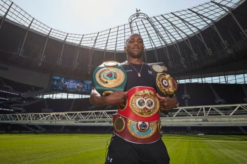 Anthony Joshua's night out in Tottenham to take on Oleksandr Usyk a trip down memory lane
