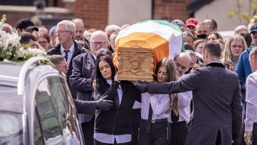 Family of murdered Belfast man crave justice, priest tells funeral