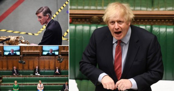 Boris facing revolt over 'conga-line Parliament' plan as MPs back online voting