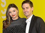 Miranda Kerr and Evan Spiegel celebrate birth of baby boy Myles