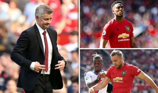 Man Utd boss Solskjaer gives injury update on Martial and Shaw after Crystal Palace loss