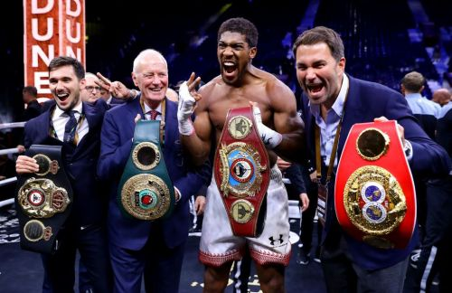 Eddie Hearn suggests Anthony Joshua will face Kubrat Pulev for his next fight
