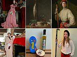 Museum challenges people in lock-down to recreate works of art with objects at home
